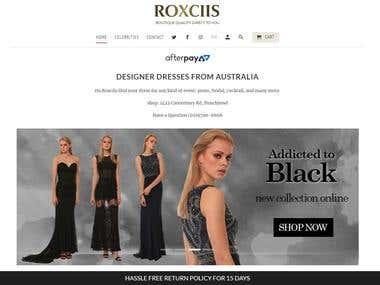 ROXCIIS | Buy Formal dresses in Sydney, Australia