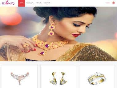 Iconiq Jewellery Website