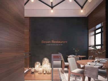 40*50 sqr m Besan Restaurant