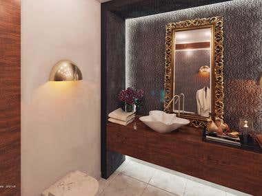 Bathroom Corner