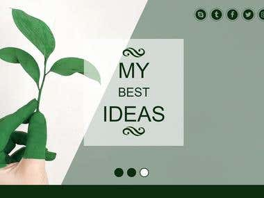 Green (PSD TO HTML)
