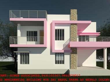 Residential G+1 Villa