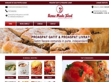 Food Delivery Site
