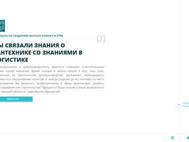 Representational website