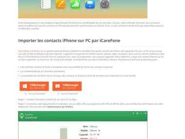 3 options pour importer les contacts iPhone sur PC