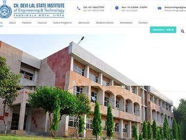 CDLSIET College Website