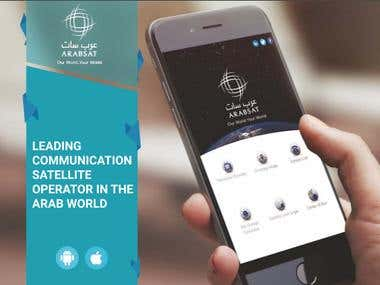 Arabsat Mobile App