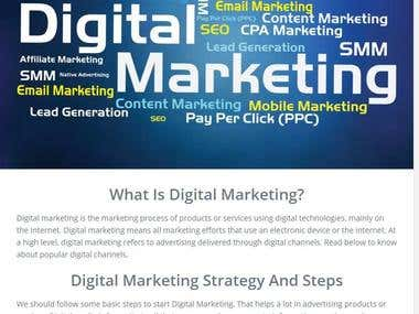 Tutorial on Digital Marketing