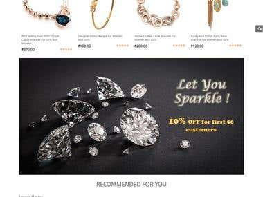 WordPress based Modern E commerce Website