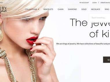 Jewelry Shopify Website