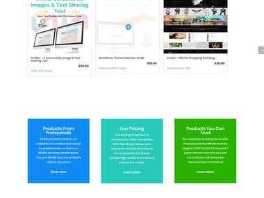 Themescart.net - A themes & scripts marketplace