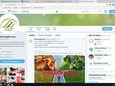 social media marketing(increasing real,valid follower )