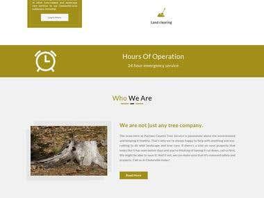 Tree Service Company Website