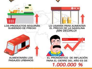 infografia crisis venezuela
