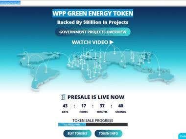WPPEnergy CryptoCurrency Website