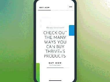Thrive Mobile App Development