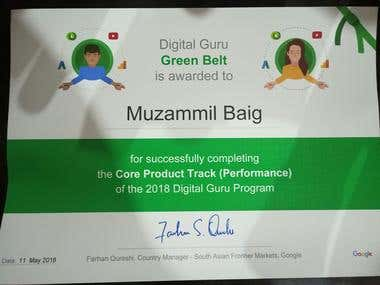 Core Product Track (Digital Guru)