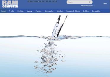 Website for Ram Coputer
