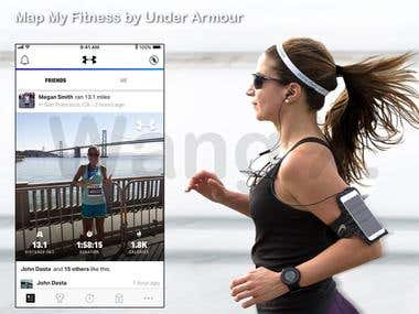 Fitness iPhone, iPad & Apple Watch Application