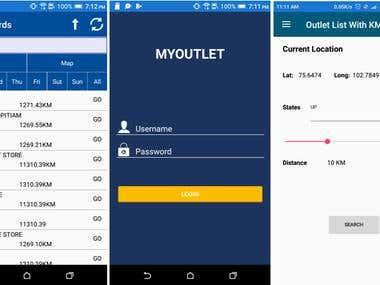 Outlet App