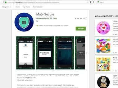Mobile App - MDM/MDA