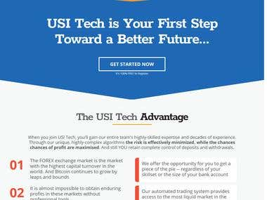 USI TECH Web Portal & Mobile Apps