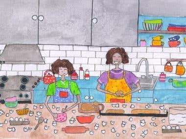 Children's book illustratkions