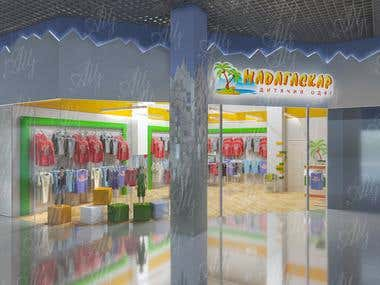 Design for shop