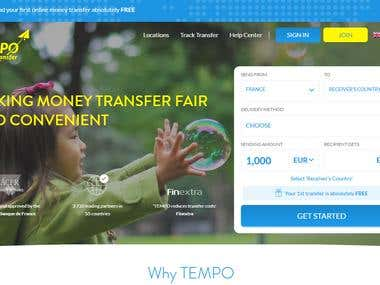 TEMPO Money Transfer, Germany