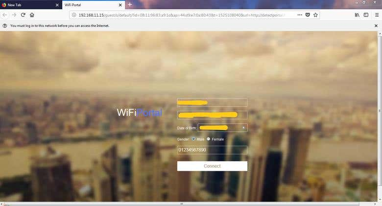 WiFi Captive Portal in PHP for Unifi/Ubiquiti | Freelancer