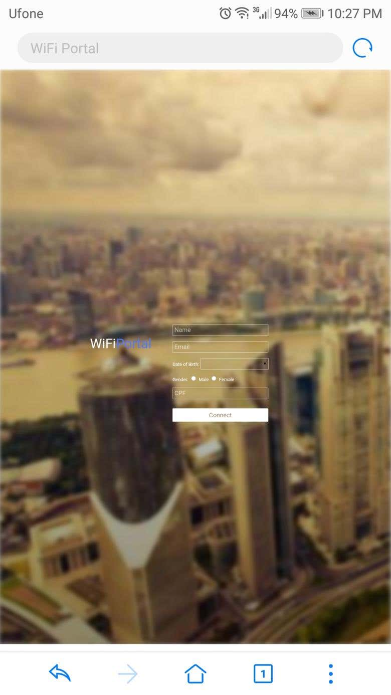 WiFi Captive Portal in PHP for Unifi/Ubiquiti | Freelancer