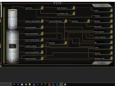 WPF + DirectX Simulation