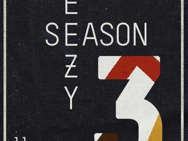 Yeezy Season 3 Poster