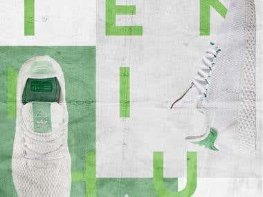 Adidas Tennis Hu Poster