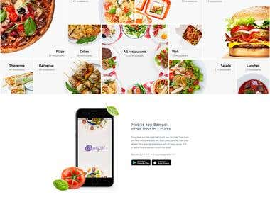 Food delivery Website and App development