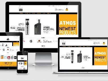 Ecommerce Website (www.vapehobby.com)