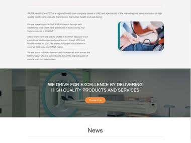 Website For AKSIA Health care