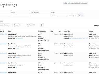 Listing Items on eBay in bulk