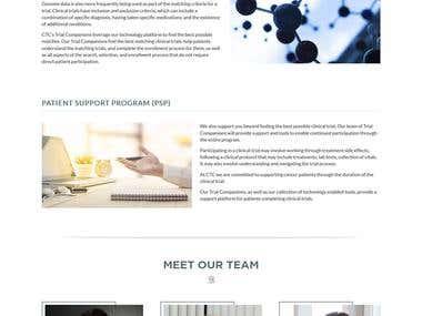 http://www.clinicaltrialscompanion.com/ - Static
