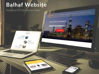 Balhaf Website | Web Design | UI & UX design