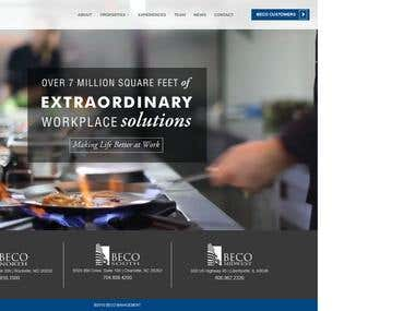 BECO Management Property website