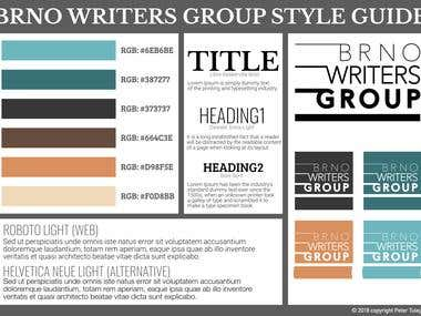 Style guide for a group focused on writing stories