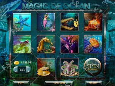 Game Slot machine design