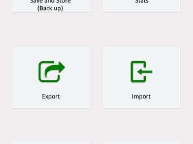 Contact app - Contacts managing app
