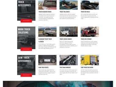 Highway Products Inc. | Website Redesign