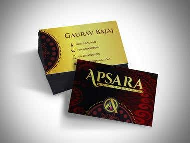 Logo,Banner,Business card - APSARA