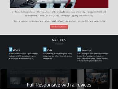 portofilo website
