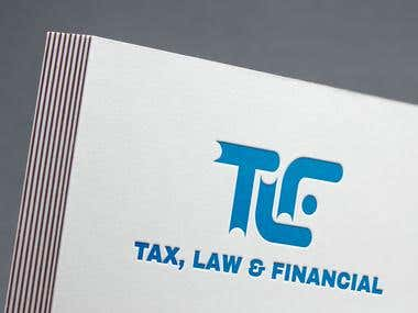Logo for a Law Form