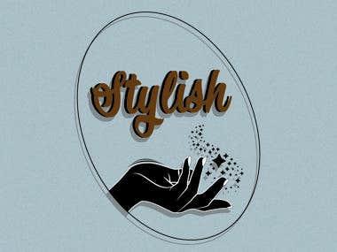 "Logo for a ""Stylish"""