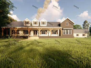 House Design and Rendering